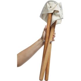 Nordisk Rebild Wooden Tripod Stol, beige/brun